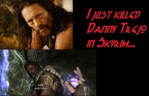 Danny Trejo In Skyrim