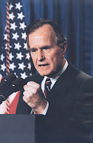 An exciting video of a crazyadventure of former President Bush!