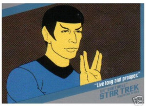 Q2 Spock from The Infinite Vulcan
