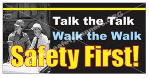 Safety First - Workplace Safety Bannerss and Posters - Bring the team ...