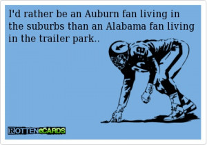 rather be an Auburn fan