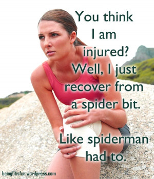 Fitness Motivation #5 #injured runner #fitness quote