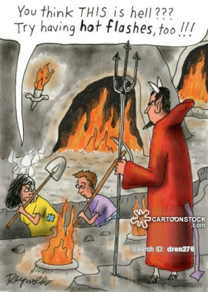health-beauty-hot_flashes-hot_flush-menopause-middle_aged-devil ...