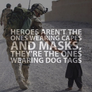 Thank you soldiers who fight for our freedom