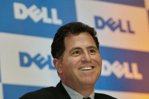 AP Dell CEO Michael Dell