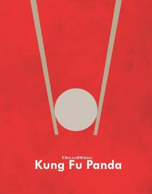 Movie Poster Cinema Poster Design Kung Foo Panda