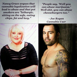 Nancy Grace on Cannabis Legalization