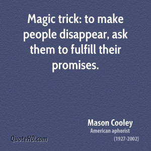 Magic trick: to make people disappear, ask them to fulfill their ...