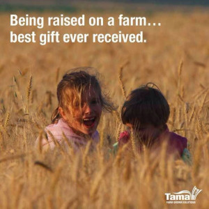 Quotes On Farms Life, Farm Life Quotes, Farmgirl Quotes, Country Kids ...