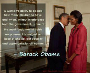 The Awesome Quote Going Around About Women's Rights From Barack Obama
