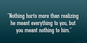 Loving Him Hurts Quotes Sad love quotes for him.