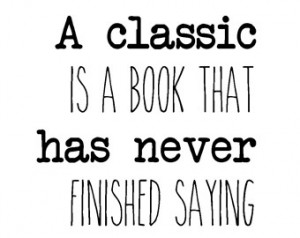 Literary quote classic books typography print love for books librarian ...