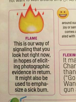 Cosmopolitan Has A Guide On How To 'Decode' Men's Emoji
