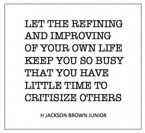 Do you ever find yourself caught in the grasp of criticism?