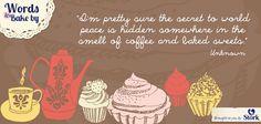 ... ? -- Grandma loves cookies and coffee #sweets #quote #wordstobakeby