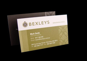 25. Bexleys Real Estate Brand Identity Designed by Katja Lambert