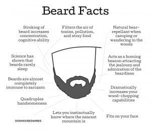 It's impossible to hurt a beard's feelings.