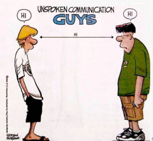 ... Size | More unspoken communication guys vs girls funny quotes jokes
