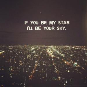sinem_kurtoglu | #love #cute #quote #stars #sky | Webstagram - the ...