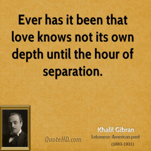 Ever Has Been That Love...