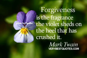 Forgiveness Quotes ~ 10 Inspirational Forgiveness quotes for Saturday