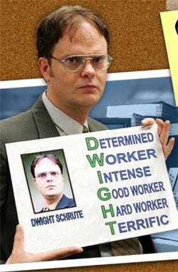 Dwight Schrute is NYMEX natural gas