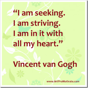 painting and then i paint my dream vincent van gogh