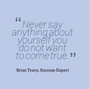 Gilda Bonanno's blog: Brian Tracy Quote