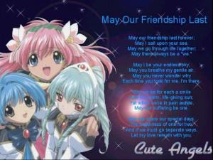 Galaxy Angel Bright Poem Anime Cute Angels HD Wallpaper