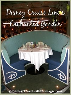Enchanted Garden aboard Disney Cruise Line #Disney #Travel #Quote