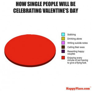 single, valentine's day