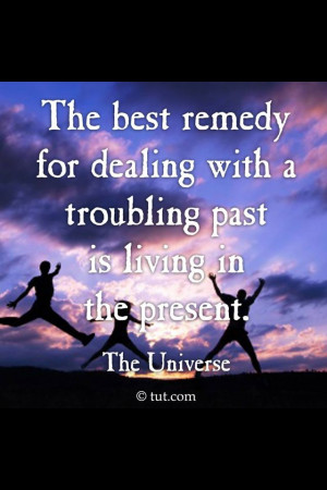 Dealing with the past!!