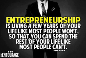 Best Business Motivational Quote: The Entrepreneur