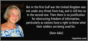More Kate Adie Quotes