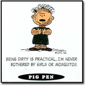 Peanuts Quotes - Pig Pen - peanuts Photo