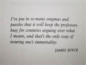 ... James Joyce Sayings, James Stanislaus, Finnegan Wake, Aloysius Joyce