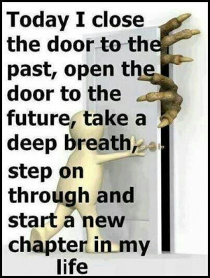 Start a new chapter in life