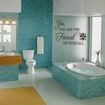 Bathroom Wall Decals : Design Marketplace Bathroom Wall Sticker Nutmeg ...