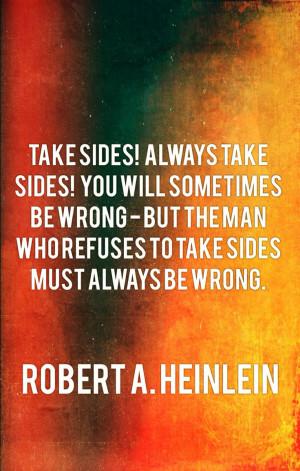 Robert A. Heinlein wisdom,