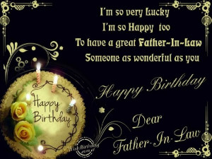 Birthday Wishes for Father In Law - Birthday Cards, Greetings