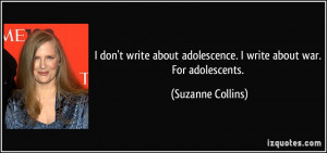 More Suzanne Collins Quotes
