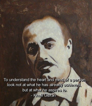 Khalil gibran, quotes, sayings, heart, mind, person, wisdom