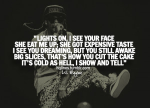 hqlines, life, lil wayne, quotes, sayings
