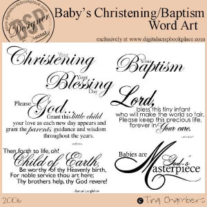 Baptism Scrapbook Pages | http://store.digitalscrapbookplace.c ...