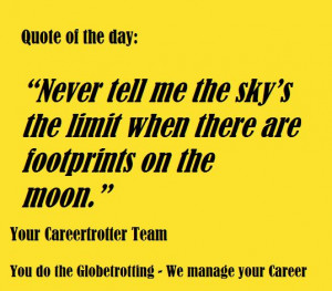 Careertrotter Quote of the Day: