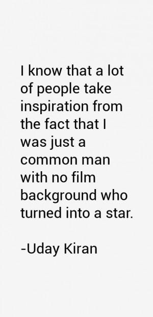 Uday Kiran Quotes & Sayings