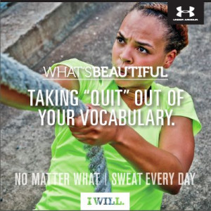 Under Armour Quotes Sayings Under armour women ads