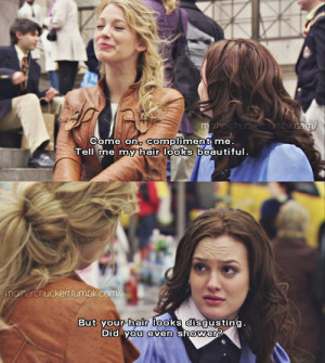Blair Waldorf Blair quotes