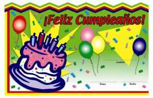 ... Birthday Quotes In Spanish For A Friend Happy birthday in spanish