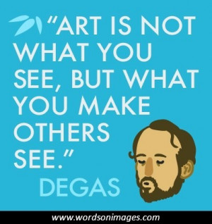 Famous artist quotes